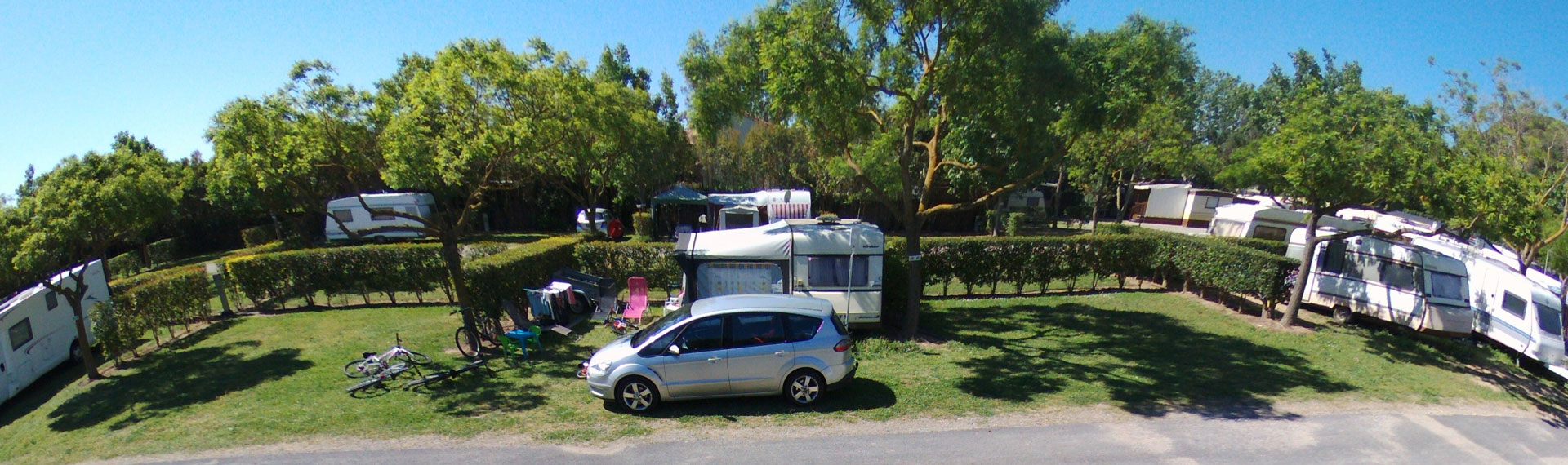 Camping village *** La Gabinelle, camping near Sérignan: rental of pitches near Valras for tent, campervan and caravan