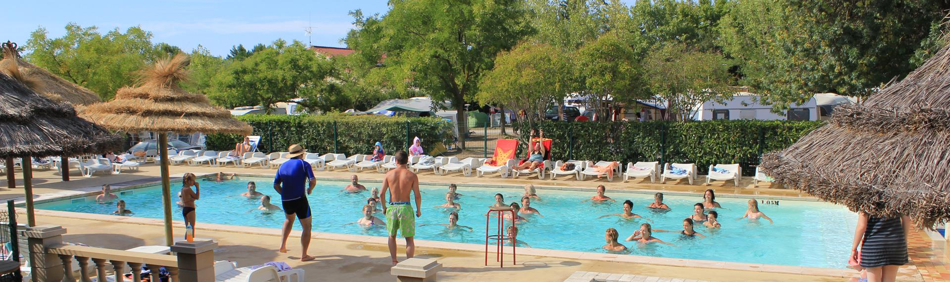 Request form for camping reservations La Gabinelle in Sauvian, camping near Sérignan