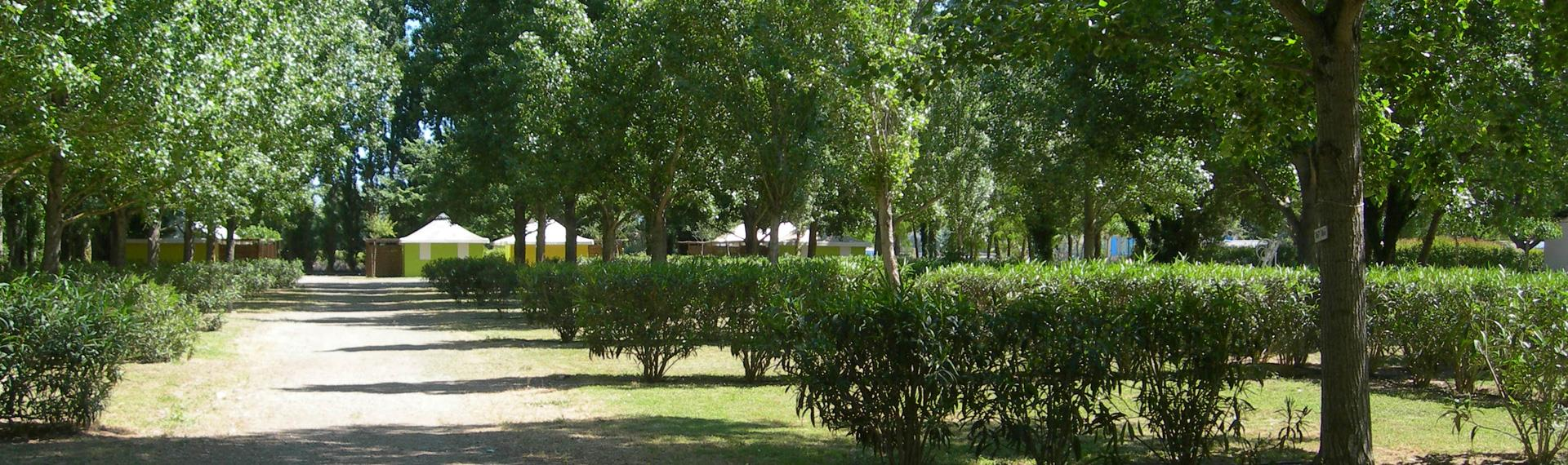Camping village *** La Gabinelle, campsite near Valras: mobile homes for hire near Béziers